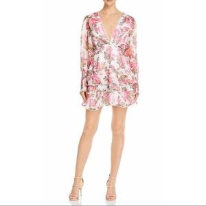 KEEPSAKE the label floral cocktail dress